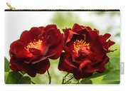 Dark Red Roses Carry-all Pouch