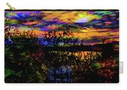 Dark Shadowy Sunset Carry-all Pouch
