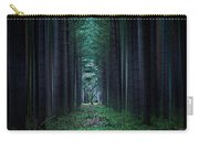 Dark Side Of Forest Carry-all Pouch