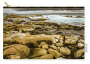 Dark Skies On Ocean Shores Carry-all Pouch