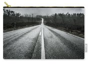 Dark Stormy Road To Cradle Mountain In Tasmania Carry-all Pouch