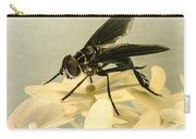 Dark Winged Comb Footed Fly Carry-all Pouch