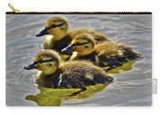 Darling Ducks Carry-all Pouch