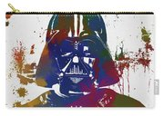 Darth Vader Paint Splatter Carry-all Pouch