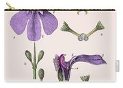 Darwins Orchis Pyramidalis, Illustration Carry-all Pouch