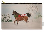 Dashing Thru The Snow Carry-all Pouch