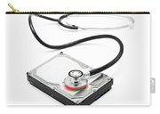 Data Recovery Stethoscope And Hard Drive Disc Carry-all Pouch