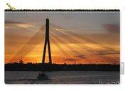 Daugava Sunset. Riga. Latvia Carry-all Pouch