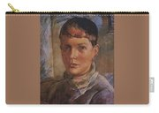 Daughter Of The Artist 1933 Kuzma Sergeevich Petrov-vodkin Carry-all Pouch
