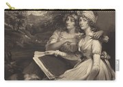 Daughters Of Sir Thomas Frankland Bart (the Sisters) Carry-all Pouch