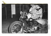 Dave On A Harley Tulare Raiders Mc Hollister Calif. July 4 1947 Carry-all Pouch