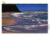Davenport Landing Beach Purple Carry-all Pouch