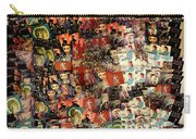 David Bowie Collage Mosaic Carry-all Pouch