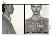 David Bowie Mugshot 1976 Carry-all Pouch