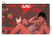 David Hasselhoff Valentine' Day Carry-all Pouch