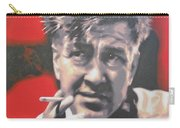 David Lynch Carry-all Pouch by Luis Ludzska