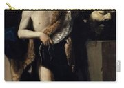 David With The Head Of Goliath 1606 Carry-all Pouch