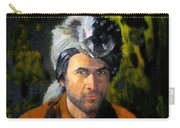 Davy Crockett Carry-all Pouch