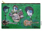 Davy Knowles And Back Door Slam Carry-all Pouch by Laurie Maves ART