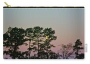 Dawn And Moon Setting - Virginia Carry-all Pouch