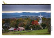 dawn arrives at sleepy Peacham Vermont Carry-all Pouch