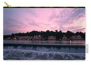 Dawn At Boathouse Row Carry-all Pouch