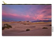 Dawn At Mesquite Flats #2 - Death Valley Carry-all Pouch