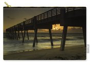 Dawn At The Pier Carry-all Pouch