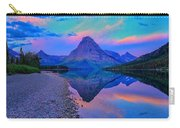 Dawn At Two Medicine Lake Carry-all Pouch