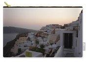 Dawn In Oia Santorini Greece Carry-all Pouch