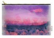 Dawn In Taos In Aquarelle Carry-all Pouch