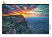 Dawn In The Chisos Carry-all Pouch