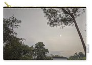 Dawn Moon Over Chinese Garden Singapore Carry-all Pouch