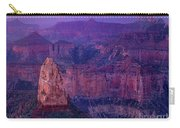 Dawn Mount Hayden Sunrise North Rim Grand Canyon Arizona Carry-all Pouch by Dave Welling