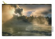 Dawn On Castle Geyser Carry-all Pouch