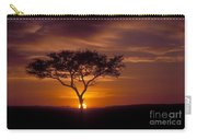 Dawn On The Masai Mara Carry-all Pouch