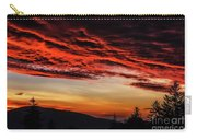 Dawn Over Big Spruce Knob Carry-all Pouch