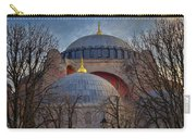 Dawn Over Hagia Sophia Carry-all Pouch by Joan Carroll