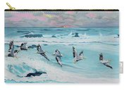 Dawn Pelicans Carry-all Pouch