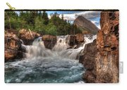Dawn Upon Swiftcurrent Falls  Carry-all Pouch