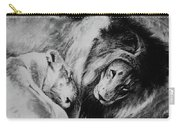 Dawn's A Coming Open Your Eyes - Lions Carry-all Pouch