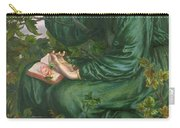 Day Dream Carry-all Pouch by Dante Charles Gabriel Rossetti