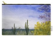 Day In Arizona Desert Carry-all Pouch