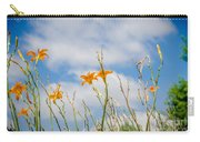 Day Lilies Look To The Sky Carry-all Pouch