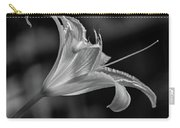 Day Lily 2 Bw Carry-all Pouch
