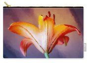 Day Lily Back Carry-all Pouch
