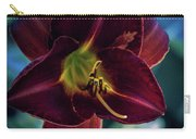 Day Lily Dark Carry-all Pouch
