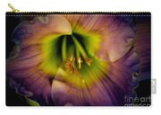 Day Lily In Purple Carry-all Pouch