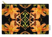 Day Lily Square Dance Carry-all Pouch