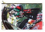 Day Of The Dead Car Trunk Skeleton  Carry-all Pouch